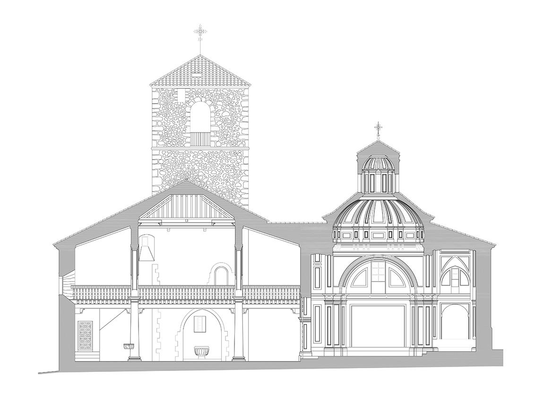 Seccion Trasnversal Iglesia