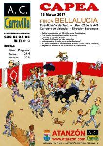Capea Carravilla 2017