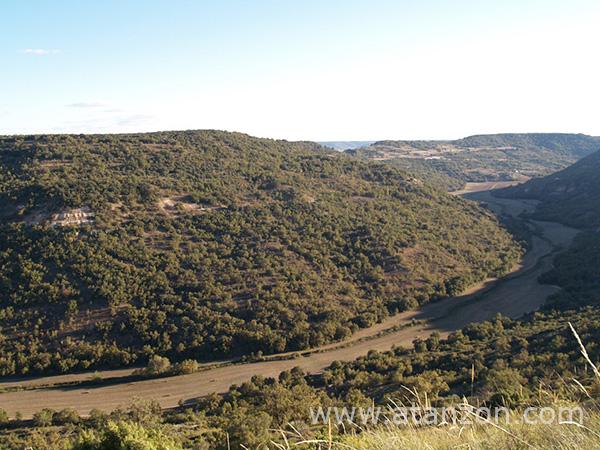 Valle del río Ungría