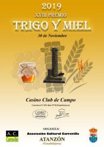 XVIII Premio Trigo y Miel @ Casino Club de Campo, Guadalajara | Guadalajara | Castilla-La Mancha | España