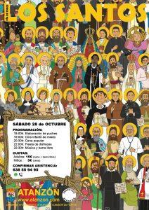 Dia de todos los santos 2017