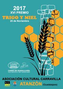 XVI Premio Trigo y Miel @ Atanzón, Guadalajara
