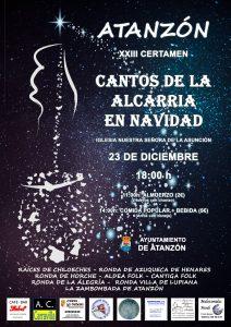 XXIII Certamen Cantos de la Alcarria en Navidad @ Atanzón, Guadalajara