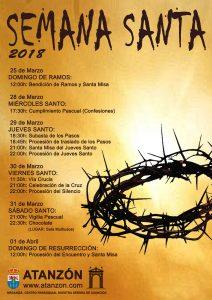 Semana Santa 2018 @ Atanzón, Guadalajara