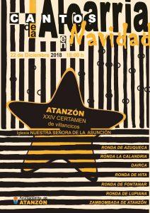 Cantos de la Alcarria en Navidad 2018 - XXIV Certamen de villancicos @ Atanzón, Guadalajara