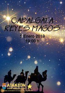 Cabalgata de Reyes Magos 2019 @ Atanzón, Guadalajara