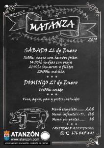 Fiesta de la Matanza 2019 @ Atanzón, Guadalajara