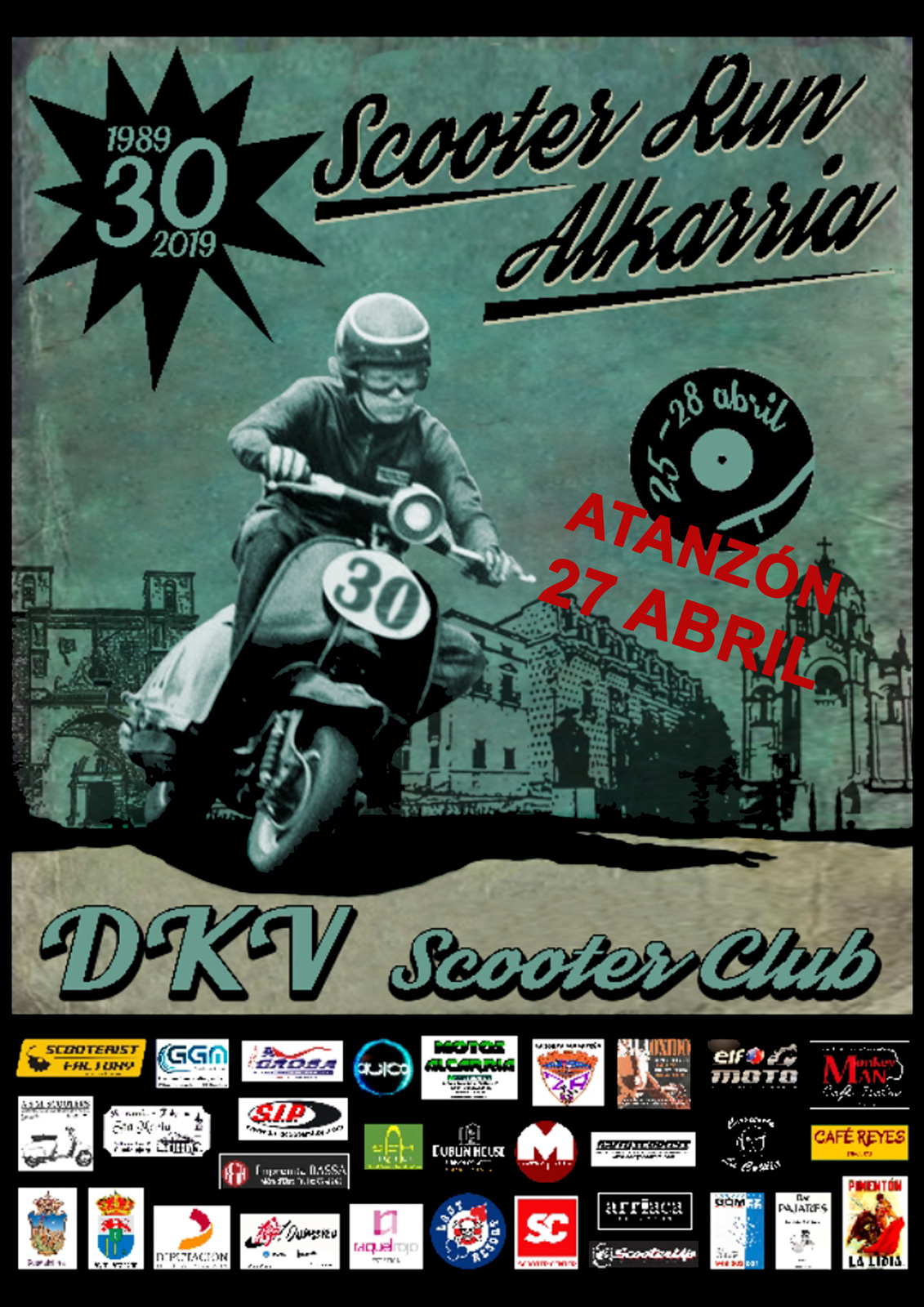 Scooter Run Alcarria 2019