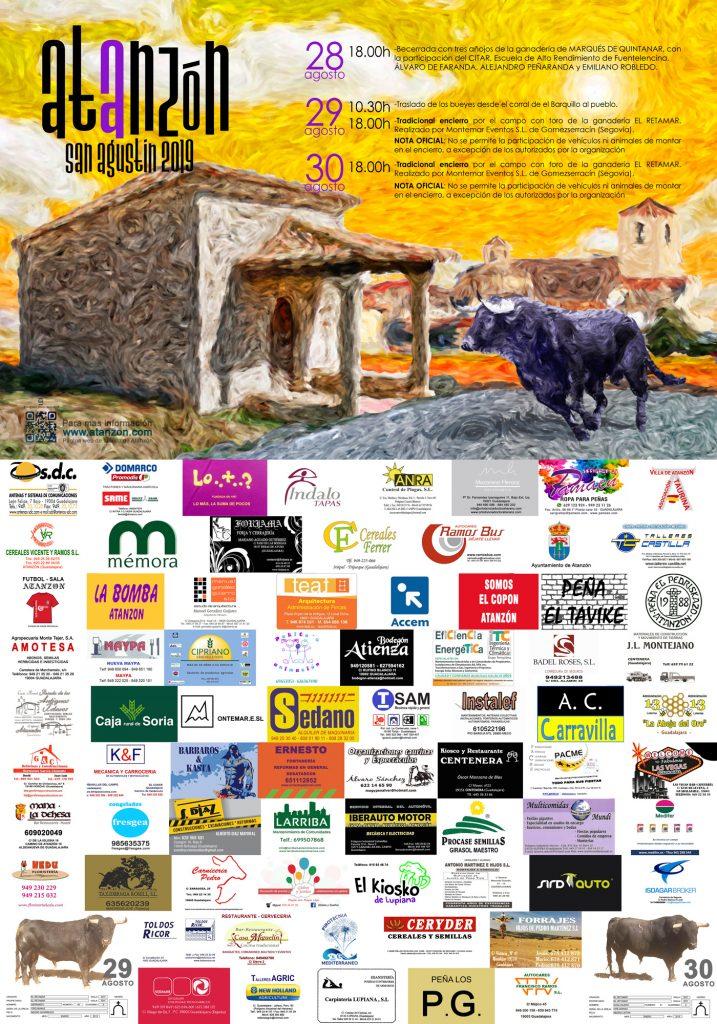 Fiestas San Agustín 2019 @ Atanzón, Guadalajara